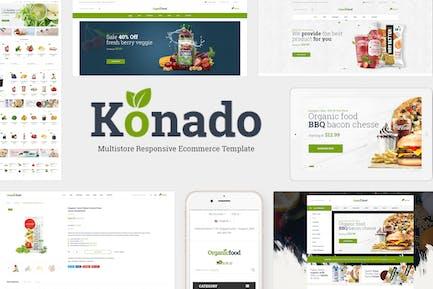 Konado - Organic WooCommerce WordPress Theme