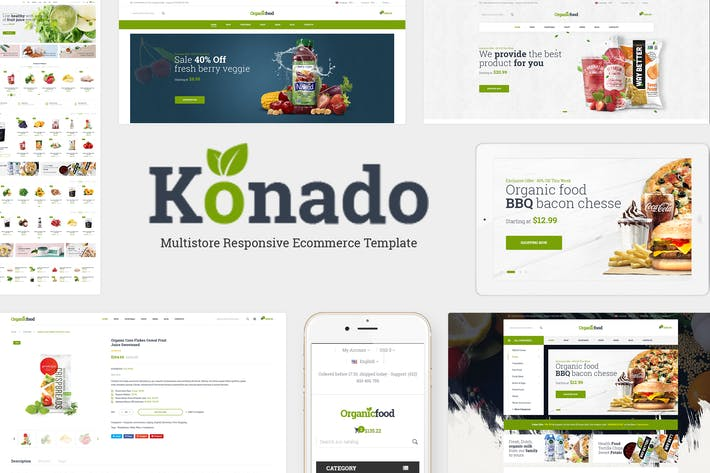 Thumbnail for Konado - Organic WooCommerce WordPress Theme