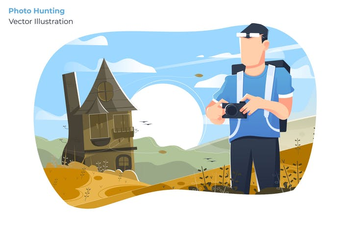 Thumbnail for Photo Hunting - Vector Illustration