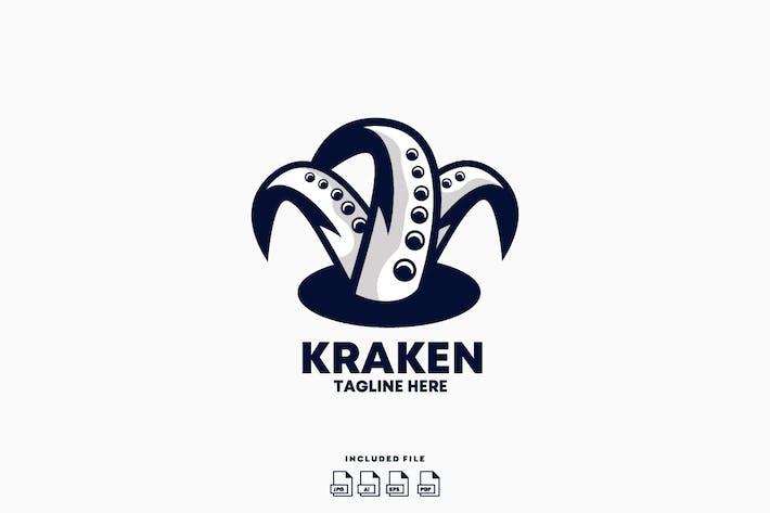 Thumbnail for Kraken Logo Design Template