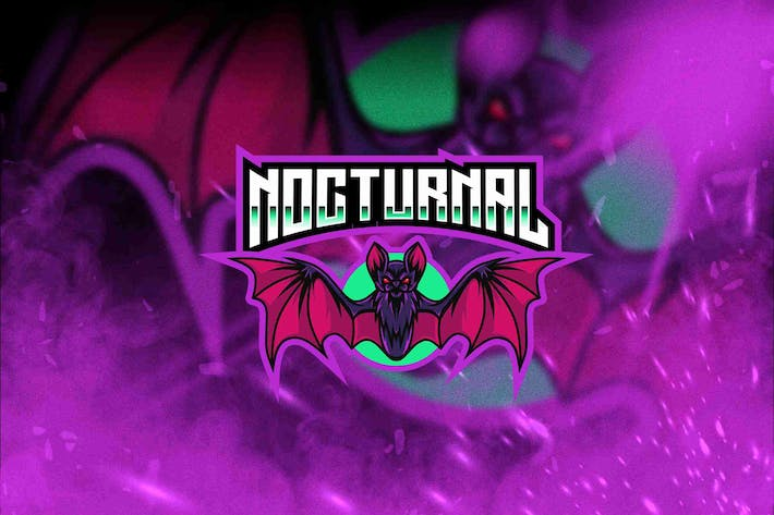 Thumbnail for Nocturnal Esport Logo Template