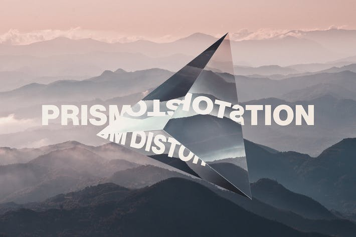 Thumbnail for Prism Lens Distortion Photo Effect