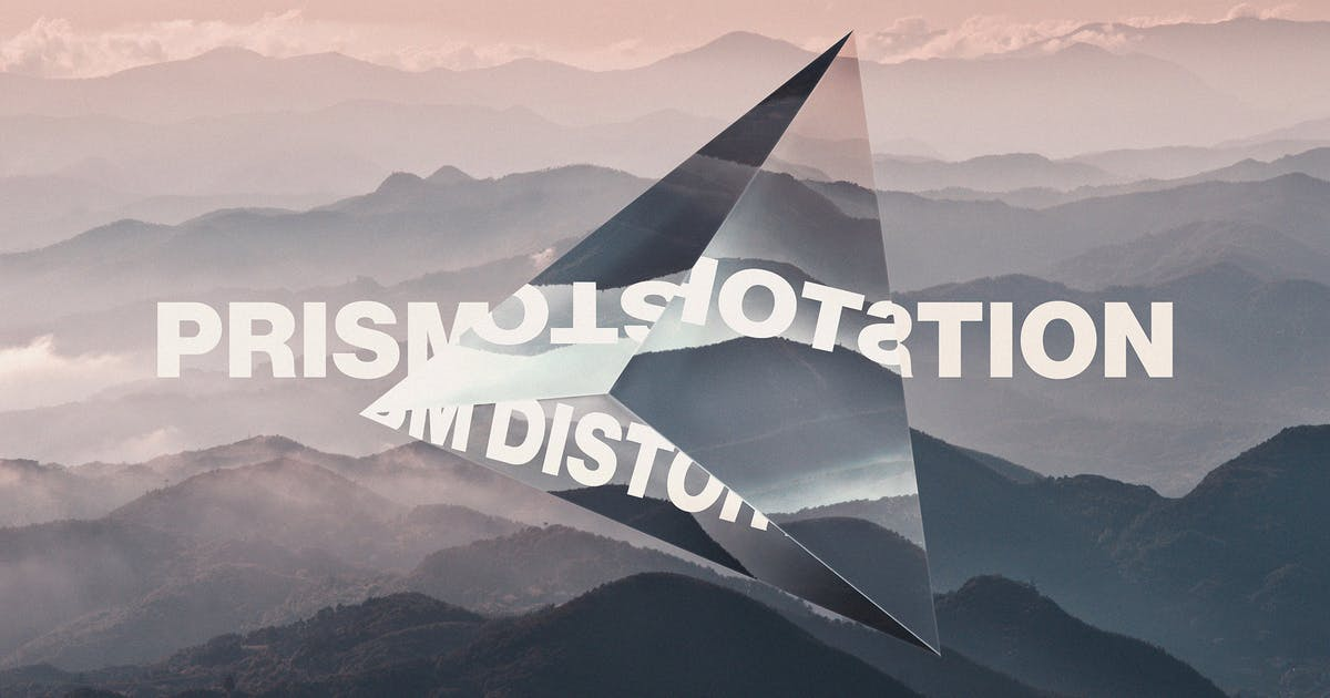 Download Prism Lens Distortion Photo Effect by pixelbuddha_graphic