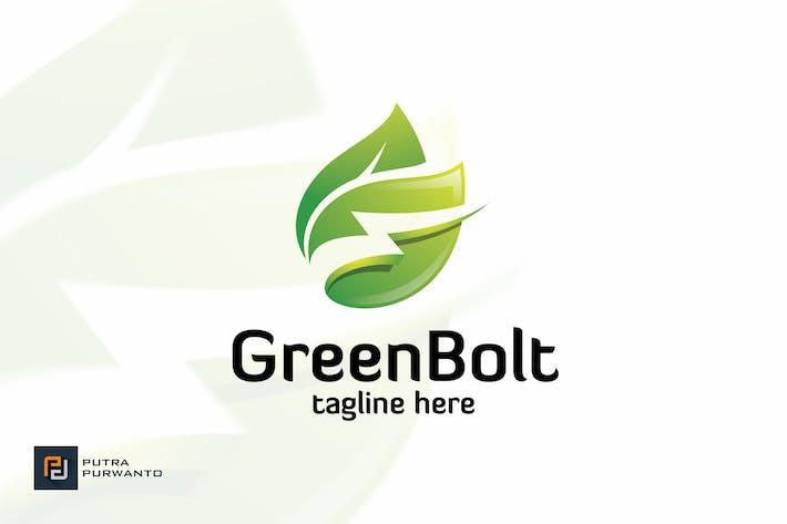 Thumbnail for Green Bolt - Logo Template