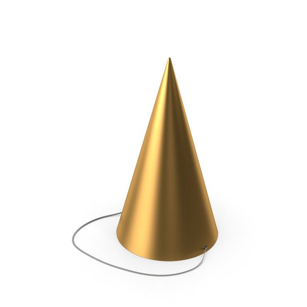 Party Hat Gold
