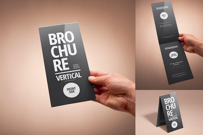 Thumbnail for Bi-Fold DL Vertical Brochure Mock-up
