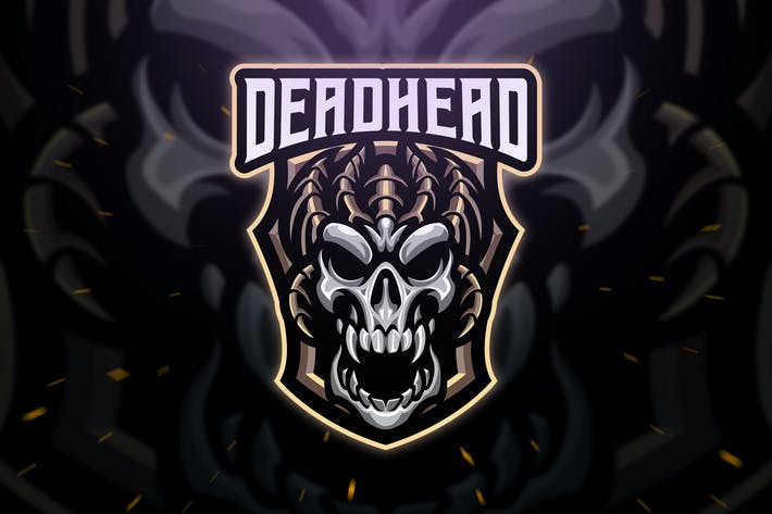 Thumbnail for Deadhead Sport and Esport Logo Template