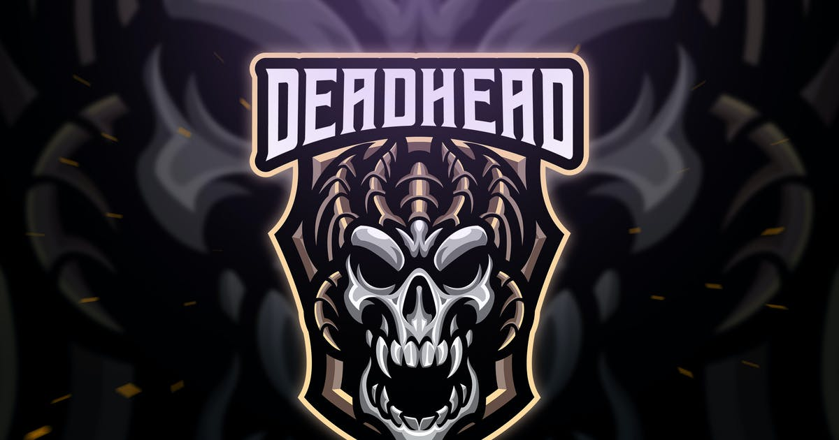 Download Deadhead Sport and Esport Logo Template by Blankids