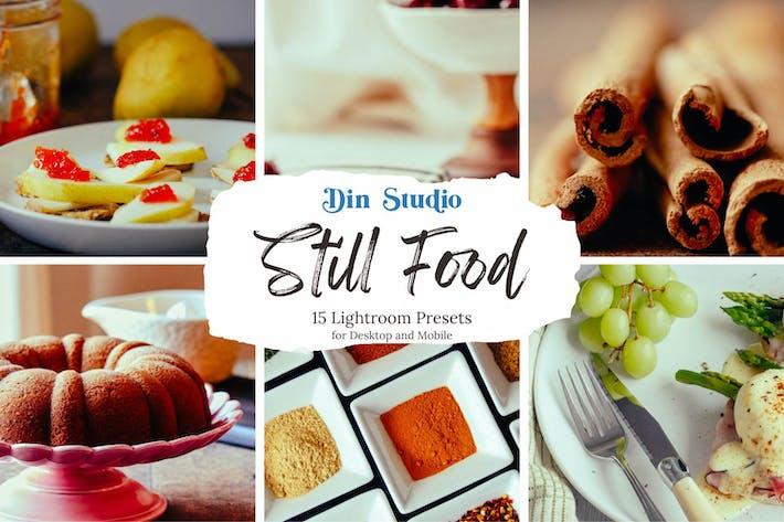 Thumbnail for Still Food Lightroom Presets