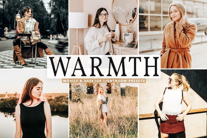 Thumbnail for Warmth Mobile & Desktop Lightroom Presets
