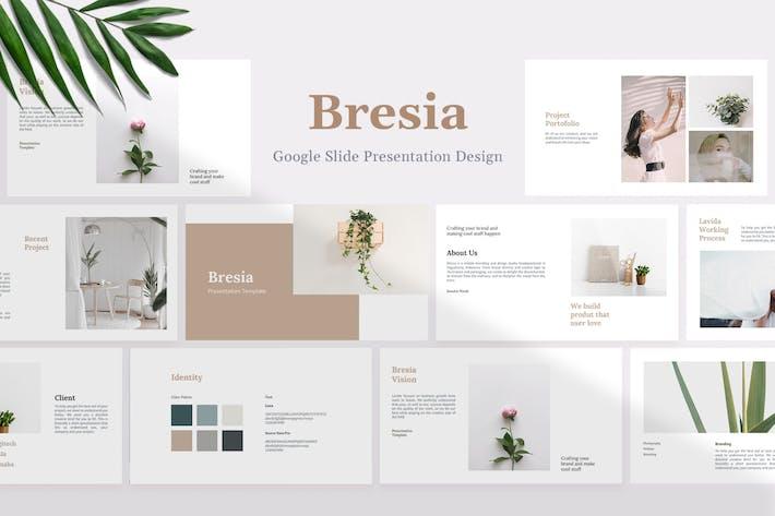 Thumbnail for Bresia - Project & Idea Google Slide Template