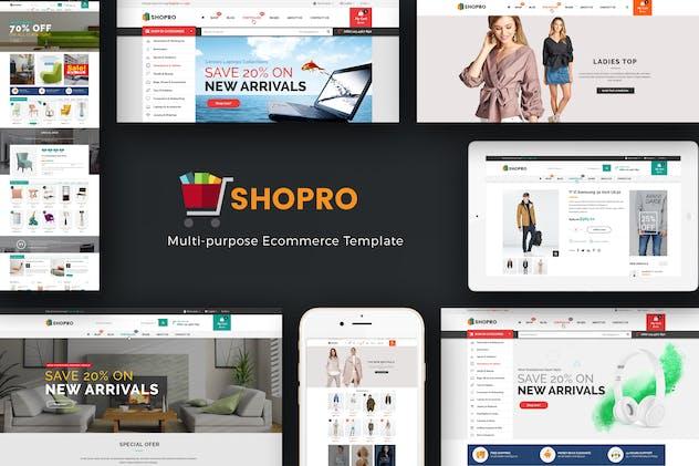 Shopro - Mega Store Responsive Magento Theme