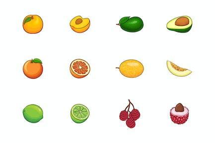 Fruits Illustration V.4