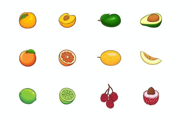 Thumbnail for Fruits Illustration V.4