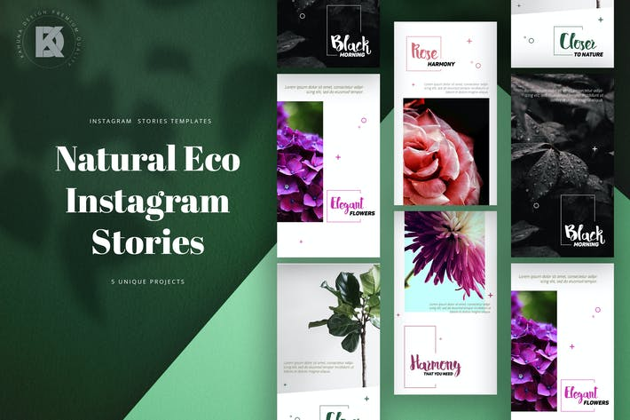 Thumbnail for Natural Eco Instagram Stories