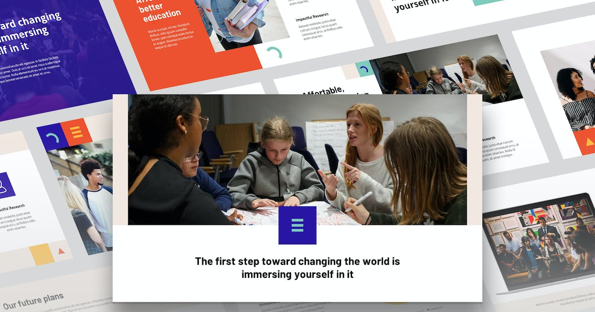 Download Etda - Education Theme Powerpoint Template by Slidehack