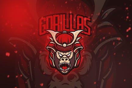 Gorilla Esport Logo Vol. 3