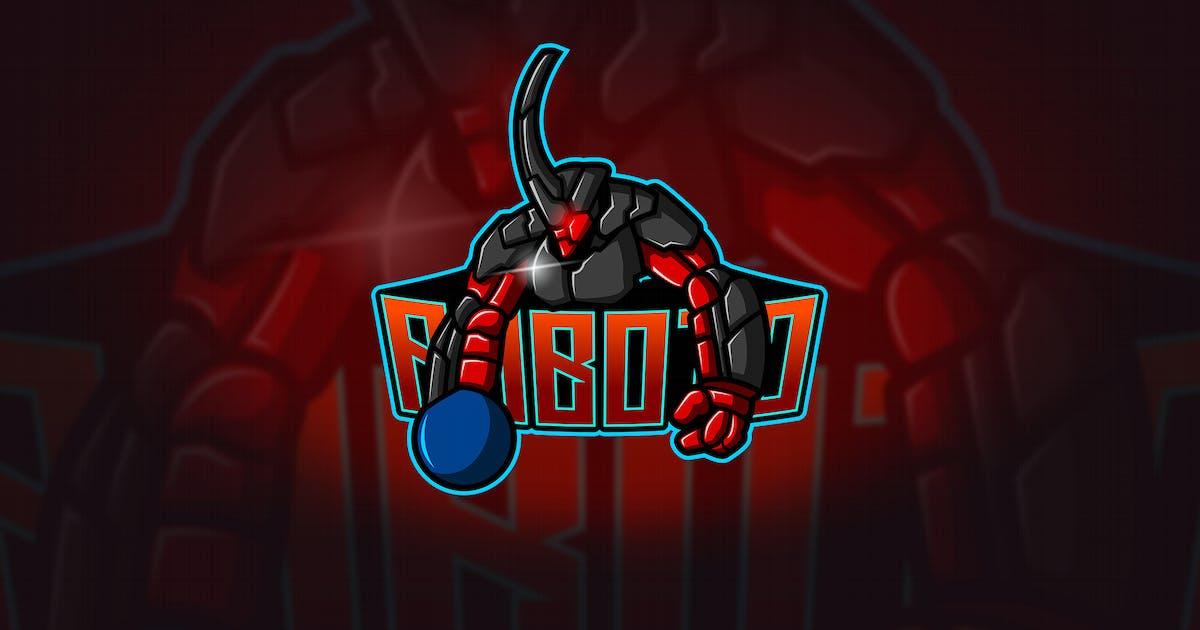 Download Robot - Mascot & Esport Logo by aqrstudio