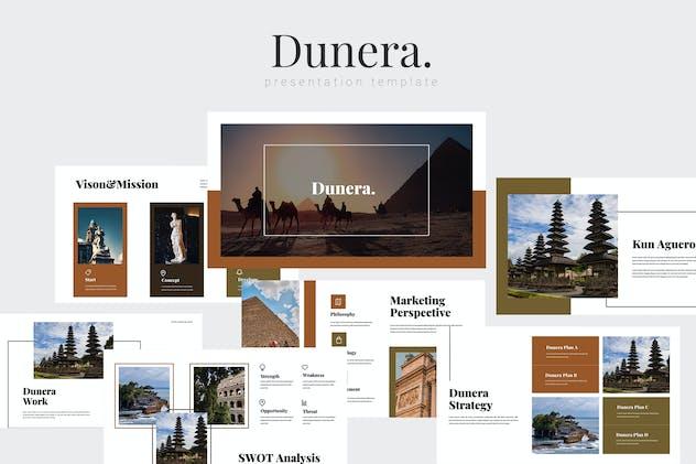 Dunera - Museum Google Slides Template