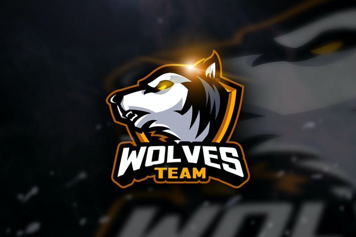 Thumbnail for Wolf Team -  Mascot & Esport Logo