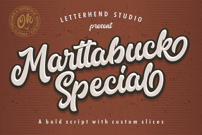 Thumbnail for Marttabuck Script