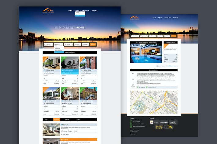 Thumbnail for Real Estate Website Kit