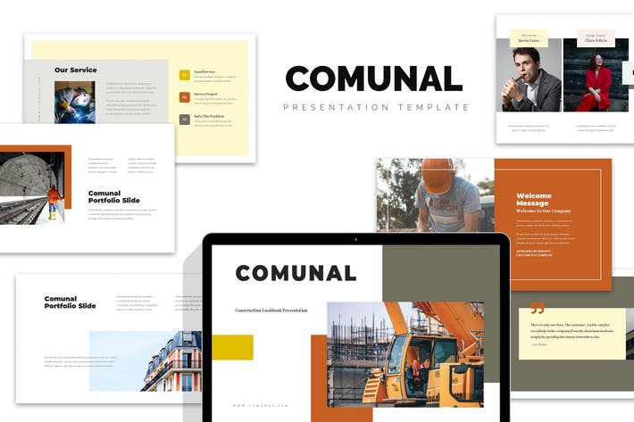 Thumbnail for Comunal : Construction & Engineering Keynote