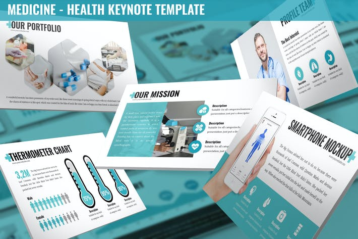 Thumbnail for Medicine - Health Keynote Template
