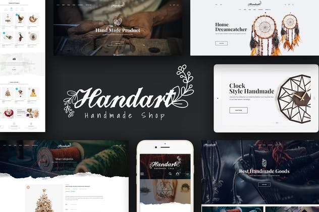 HandArt - Magento Theme for Handmade Artists