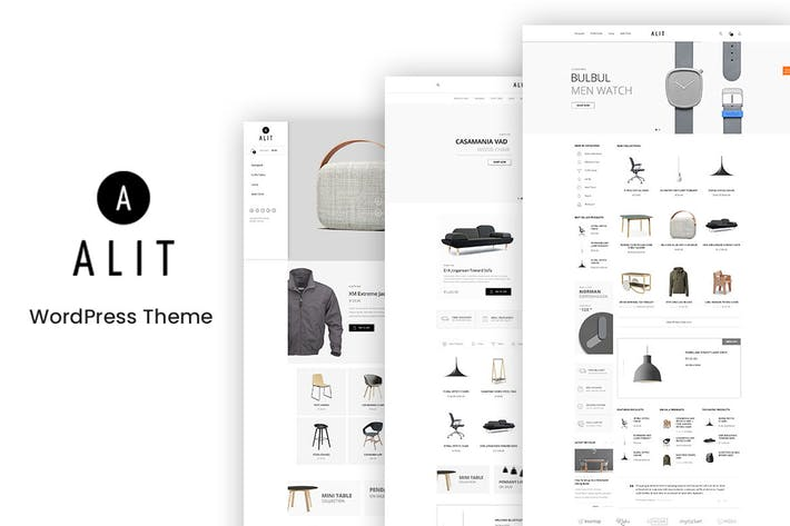 Thumbnail for Alit - Minimalist WooCommerce WordPress Theme