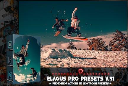 PRO Presets - V 91 - Photoshop & Lightroom