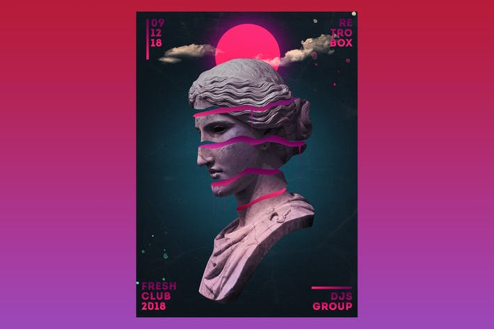 Cover Image For Alternat Music Flyer Poster