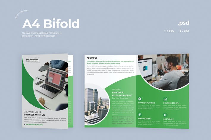 Thumbnail for Brochure Business Bifold