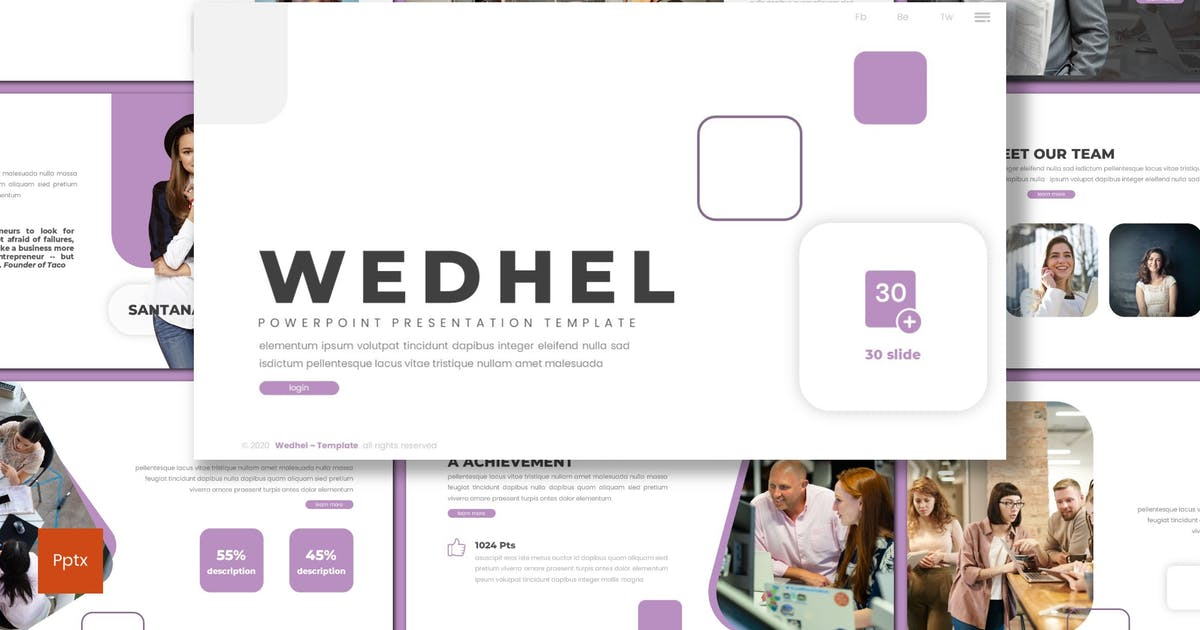 Download Wedhel - Business Powerpoint Template by inspirasign