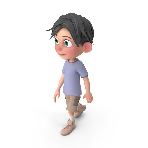 Мультфильм мальчик Джек Ходьба