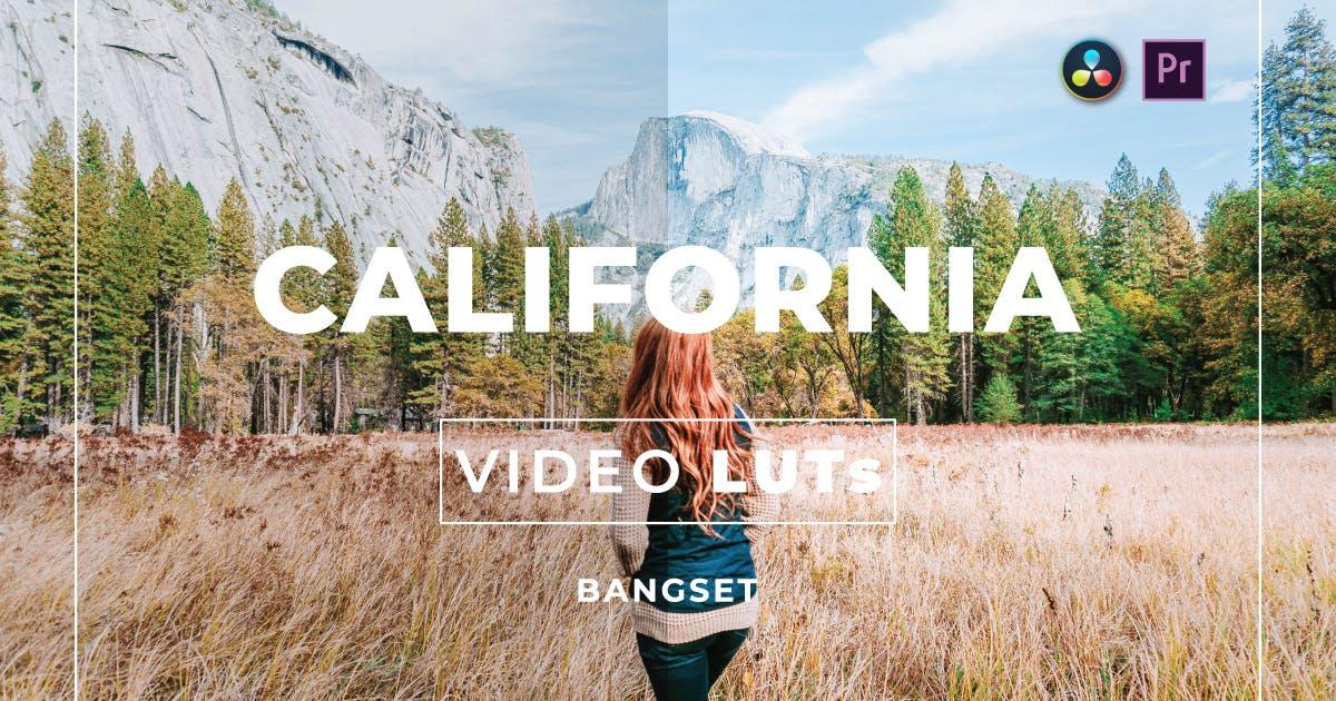 Download Bangset California Video LUTs by Bangset