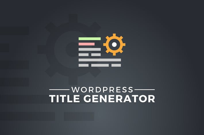 Thumbnail for WordPress Title Generator
