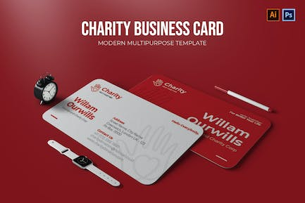 Charity - Business Card