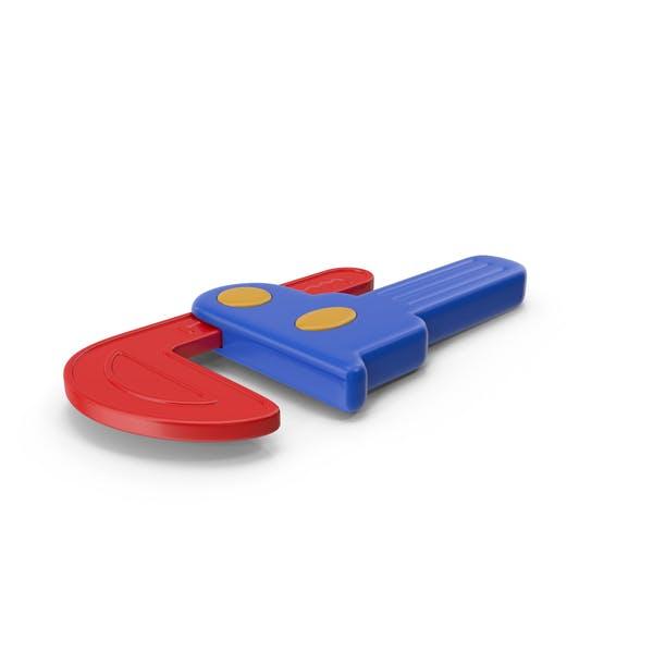 Llave de tubo de juguete