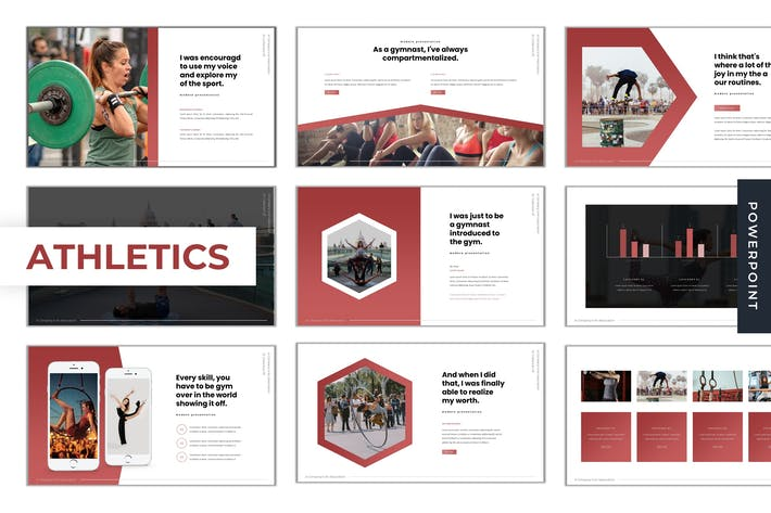 Athletics - Powerpoint Template