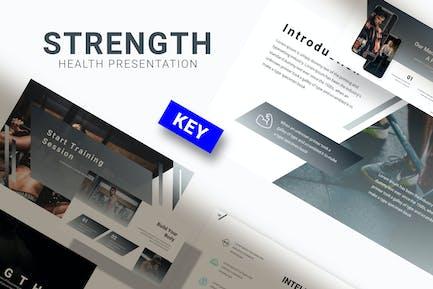 Strength - Gym Keynote Template