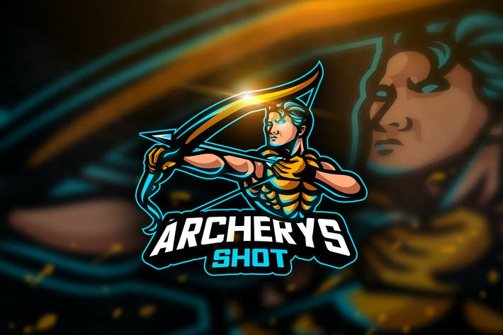 Thumbnail for Archerys Shot- Mascot & Esport Logo