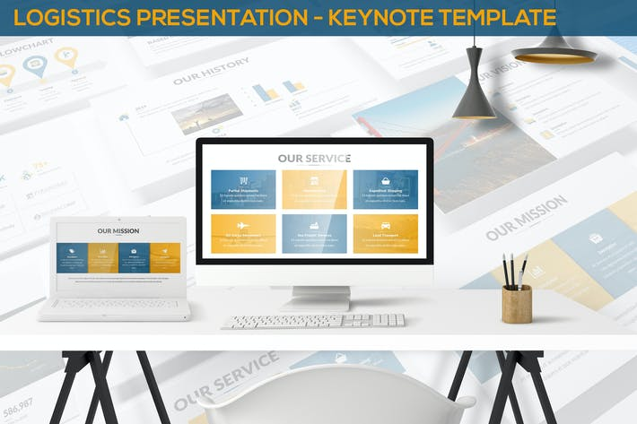 Thumbnail for Logistics Presentation - Keynote Template
