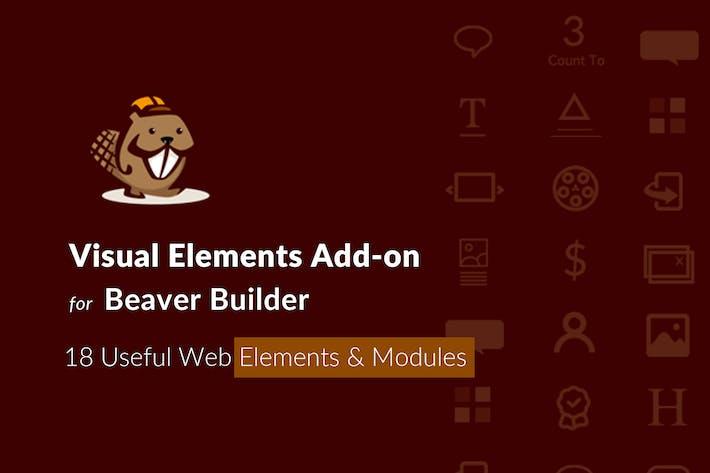 Thumbnail for Visual Elements Addon für Beaver Builder