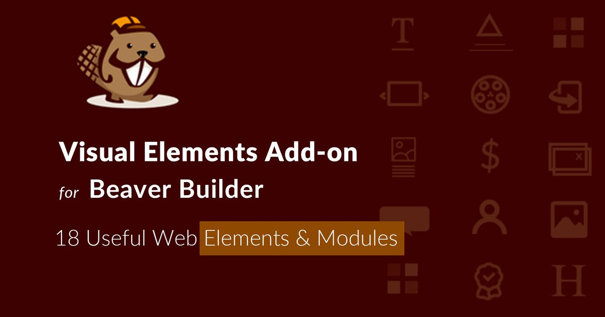 Download Visual Elements Addon For Beaver Builder by ThemeVan
