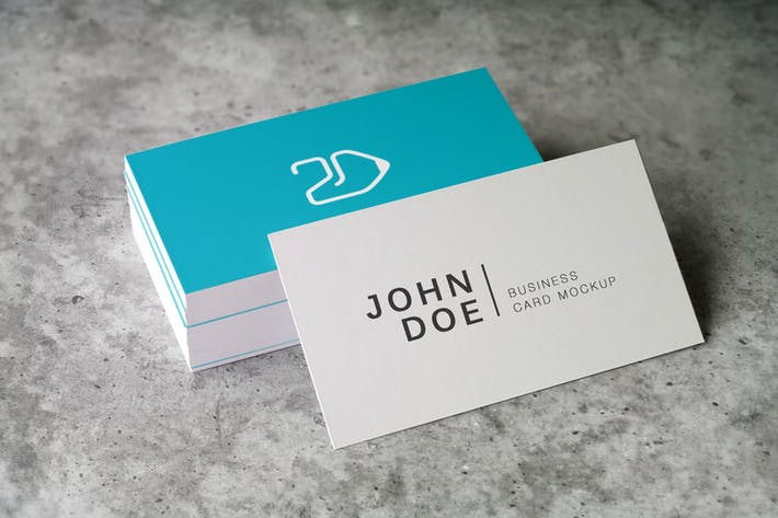 Cover Image For 90x50 Business Card Mockup