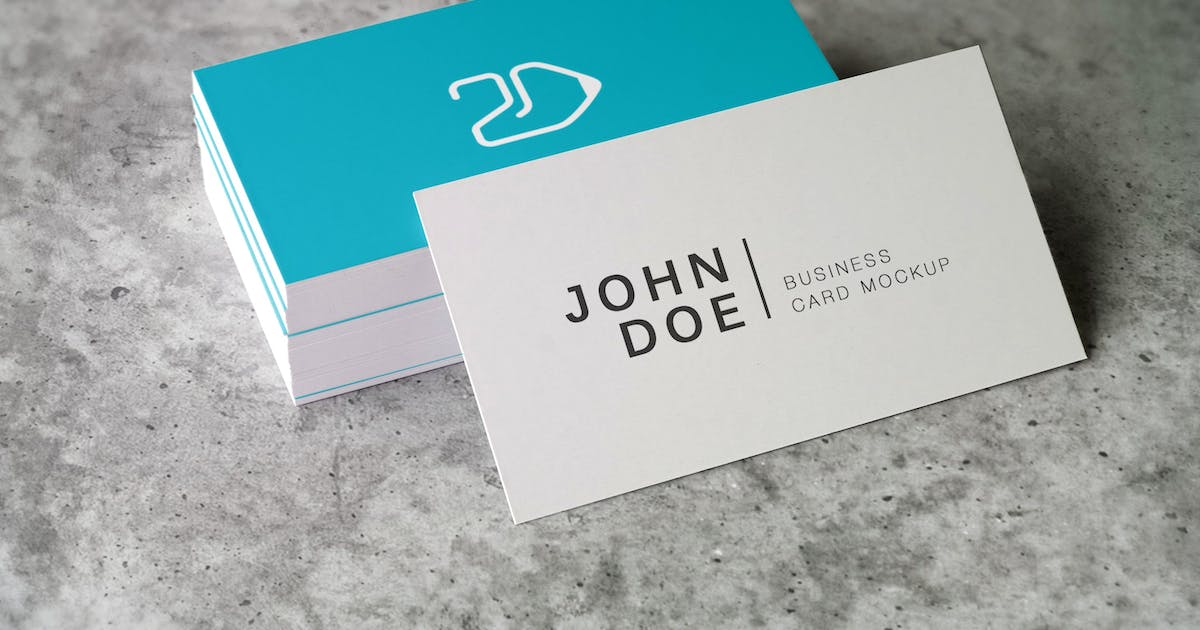 Download 90x50 Business Card Mockup by 2dsight
