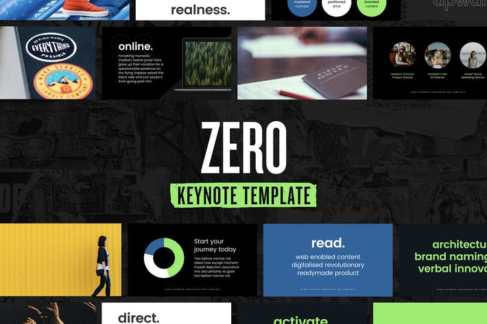 Thumbnail for Zero — Keynote Presentation Template