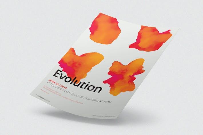 Thumbnail for Evolution Flyer / Poster