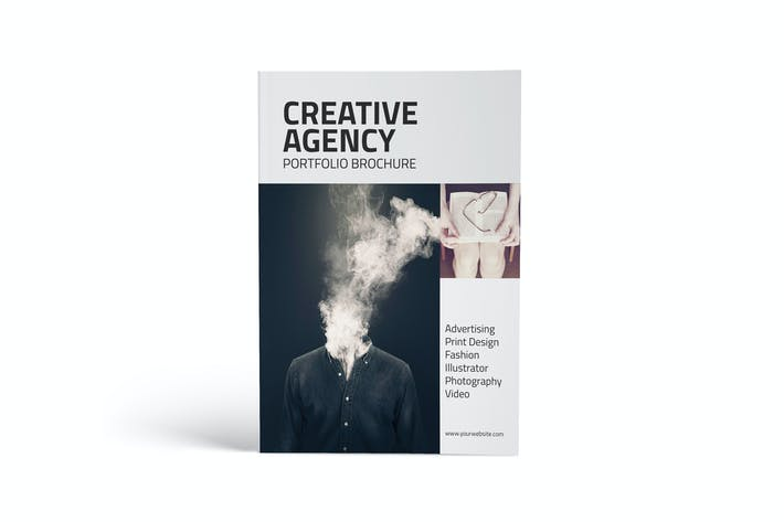 Thumbnail for Creative Agency Portfolio Catalog Brochure